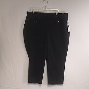 Women's Jag High Rise Straight Crop Size 18w
